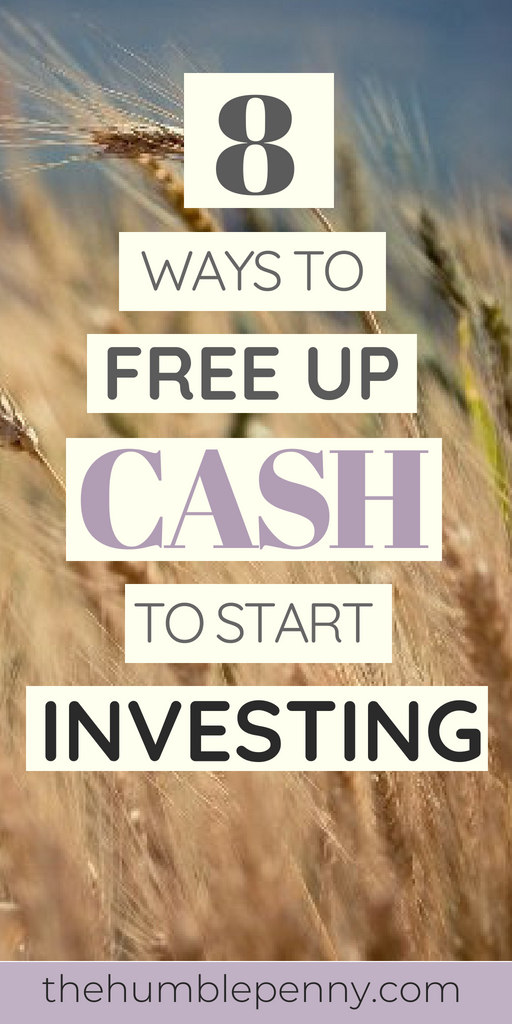 Finding the spare cash to start investing is a challenge for most people. Even for those on 6-figures! Read these 8 Tips I\'ve used personally, to Help You Free-up Cash to Start Investing. It will give you an advantage over millions!#Investing #Cash #BeginnerInvestor