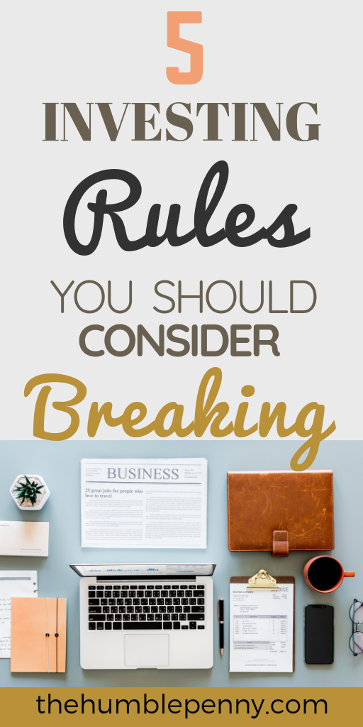 There are Specific investing rules that you should go against once in a while. In fact, breaking some of these rules will likely help Save you years of costly experience.#Investing #Money #PersonalFinance #Wealth #Finance #forbeginners