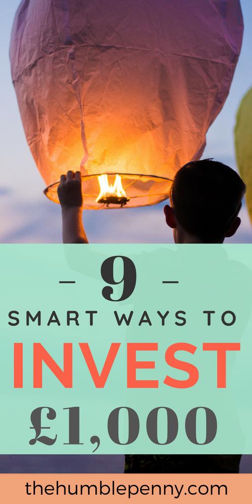 9 Smart Ways To Invest £1000