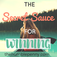The Secret Sauce for Winning