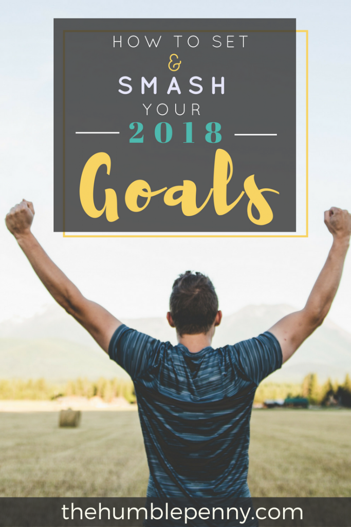 How to set and smash your 2018 goals