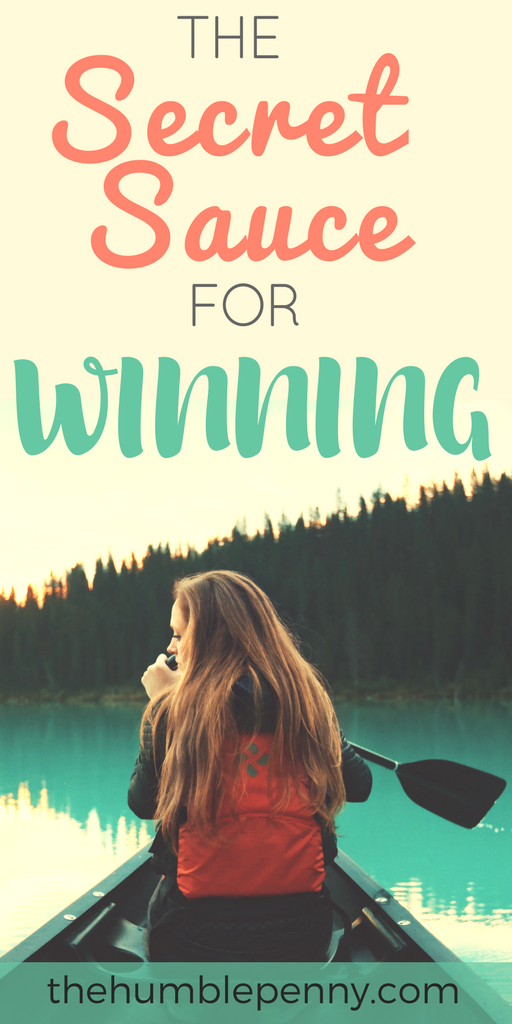 The Secret Sauce For Winning. What does winning mean to you? In my mind, winning is my ability to surpass well crafted and defined goals that I have set myself in relation to my life journey. Read on to understand the exact formula for how to win in your life.