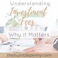 Understanding Investment Fees and Why It Matters