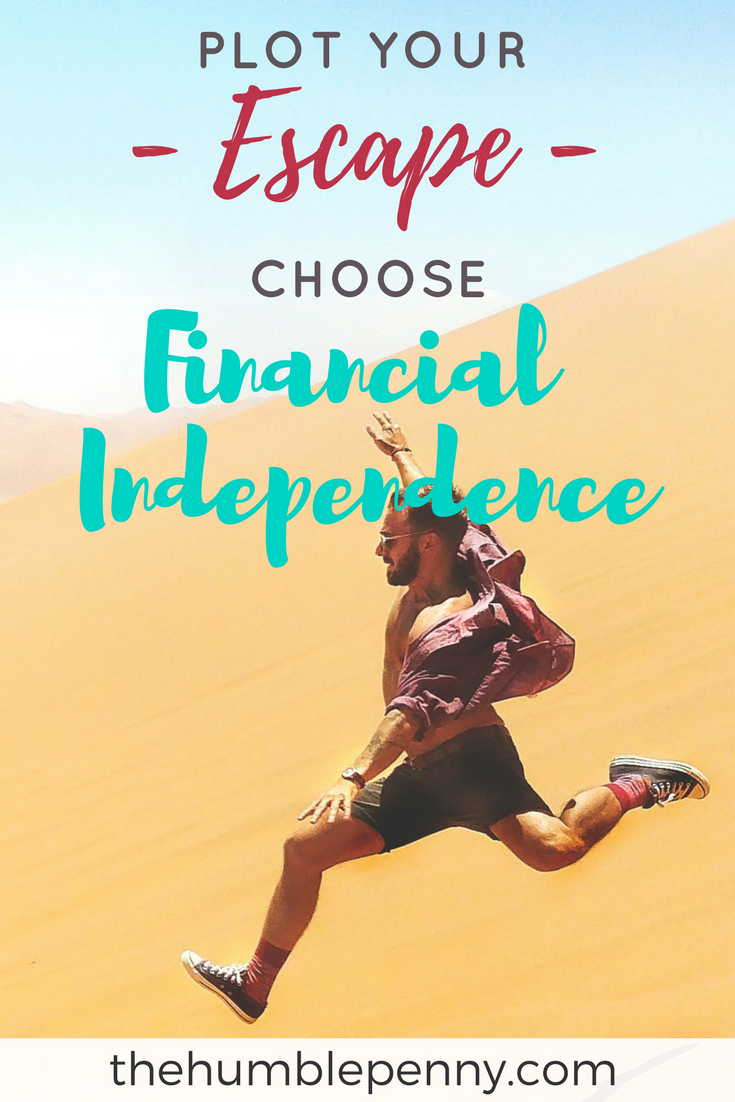 Plot Your Escape. Choose Financial Independence