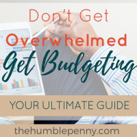 Don't get overwhelmed, get budgeting