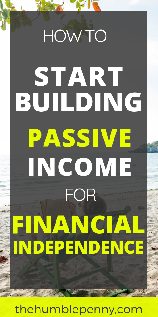 Immediate next steps to ACTUALLY start building Passive Income today! These tips go beyond just Passive Income ideas and tell you what your next best steps should be. #passiveincome #passiveincomeideas #incomegeneratingassets #makeextramoney #passiveincomestreams #sidehustle #financialindependence #financialfreedom