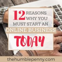12 Reasons Why You Must Start An Online Business Today