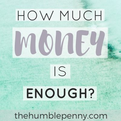 How Much Money Is Enough?