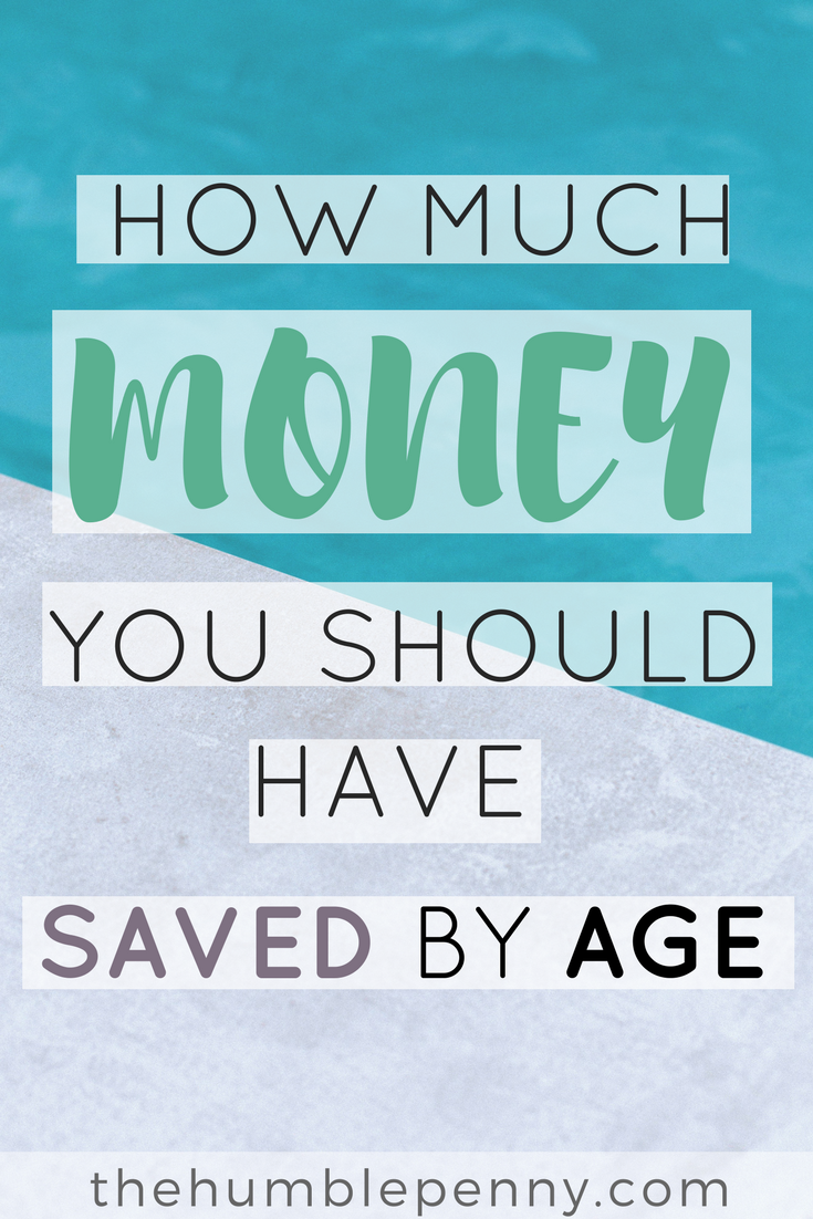 How Much Should You Have In Savings At Each Age - oukas info