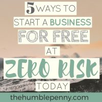 5 Ways to Start a Business for Free at Zero Risk