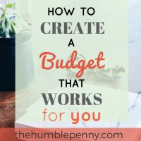 How To Create A Budget That Works For You