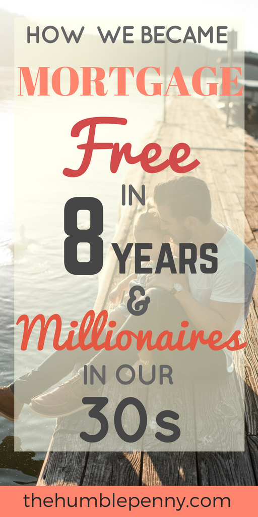 Becoming mortgage free earlier is a challenge but can be achieved with great focus, sacrifice, perseverance, and creativity. Check out how we became mortgage free in 8 years and also millionaires in our 30s. #mortgagefree #debtfree #debtfreecommunity #millionaire #selfmade #financialindependence #financialfreedom #FIRE #FIOR