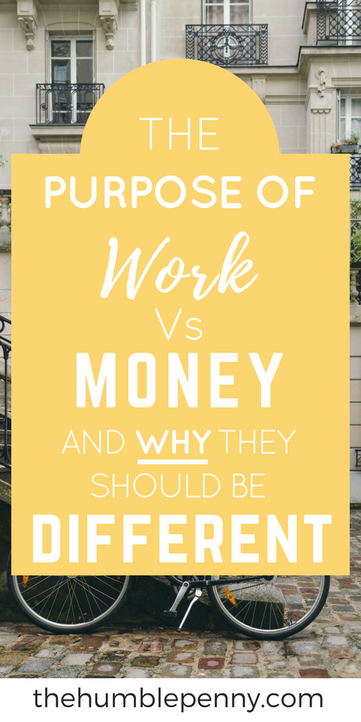 You become wealthy when you separate what you do with your time from what you do for your money. Working to just earn money is unsustainable and will not lead to your happiness and joy. Read on for a fresh perspective on work! #work #careers #wealth #purpose #money #financialindependence #financialfreedom #freedom #passion