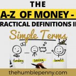 The A to Z of Money – Practical Definitions In Simple Terms