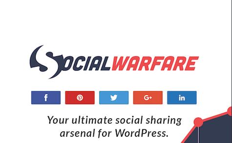 Try Social Warfare Pro!