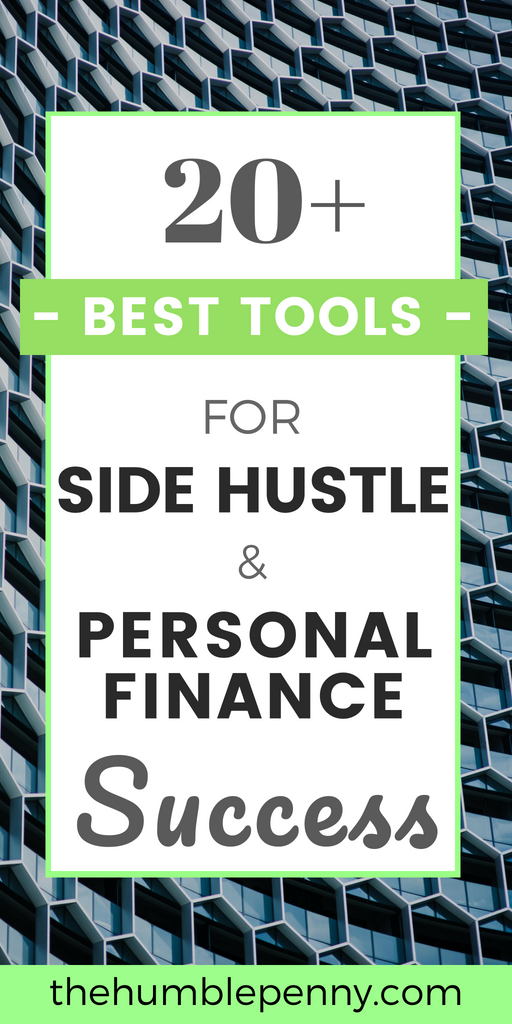 Explores these 20+ Best Resources For Side Hustle & Personal Finance Success. They will Help You Save and Make Money, be More Productive and do Business well. They are the exact tried and tested tools and resources that I use in my personal life and to successfully run The Humble Penny. Enjoy! #Tools #Resources #Sidehustle #PersonalFinance #SavingMoney #MakingMoney #Productivity