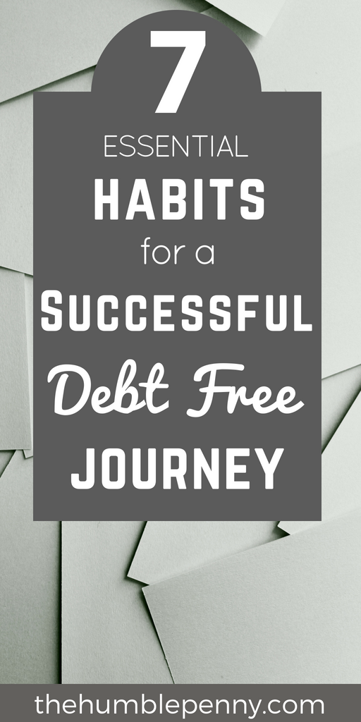 Complete Debt freedom is an Active Choice that requires Practical day to day Habits that are Essential for goal Success. Read on for important Tips that give you Motivation and Help You become Debt Free whilst keeping your Life Balanced!#Debtfree