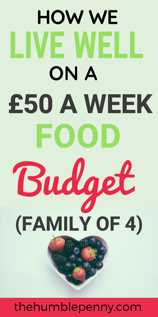 How We Live Well On A £50 Per Week Food Budget (Family of 4)