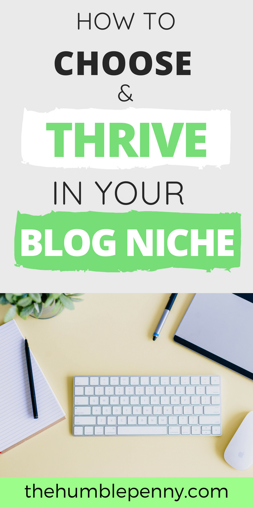 How To Choose And Thrive In Your Blog Niche
