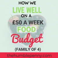 How We Live Well On A £50 A Week Budget For A Family Of Four