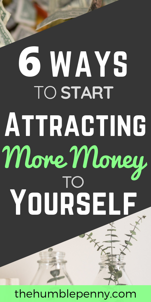Read these Top Tips for ways you can start Attracting MORE MONEY into your life today, rather than chasing it all the time with no success. #MakeMoney #PersonalDevelopment #Lifehacks #Life #Money