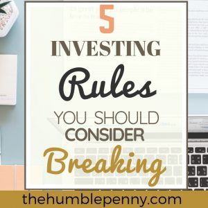 5 Investing Rules You Should Consider Breaking