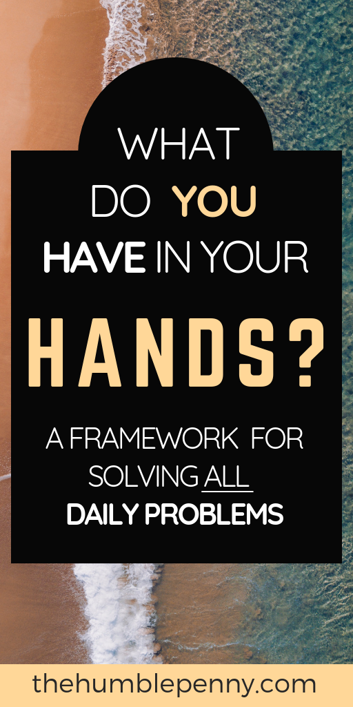 What do you have in your hands?