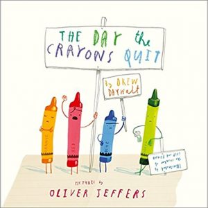 Gift Ideas For Friends - The Day The Crayons Quit - The Humble Penny