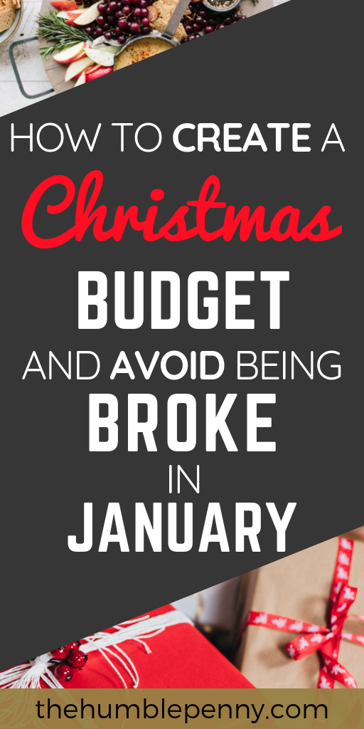 How To Create A Christmas Budget And Not Go Broke In January