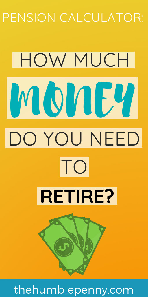 Pension Calculator: how much money do you need to retire?