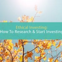 Ethical investing: How to start investing