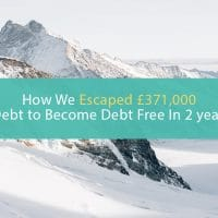 how to become debt free in 2 years