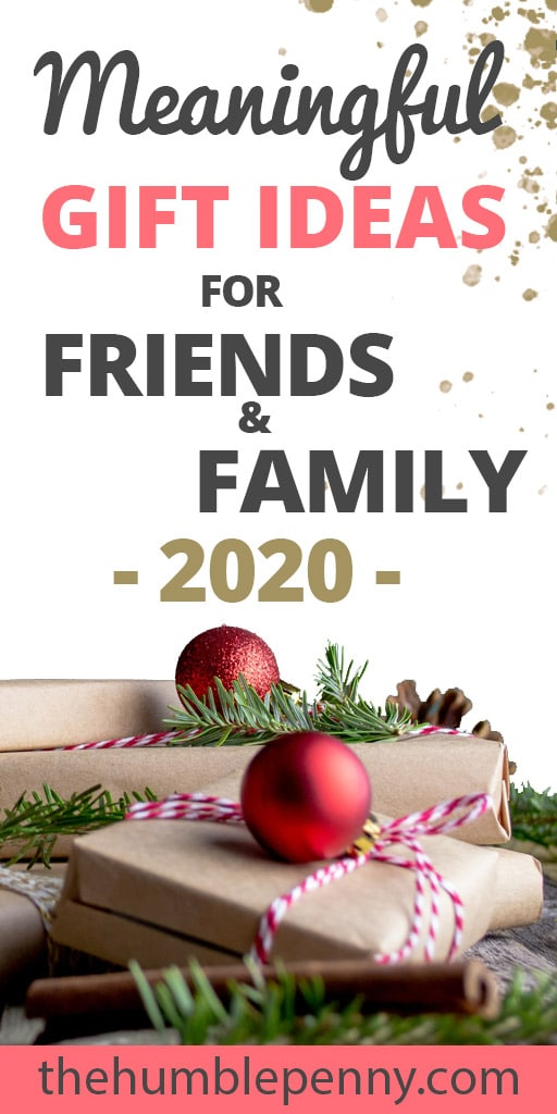 Meaningful Gift Ideas For Friends And Family 2020