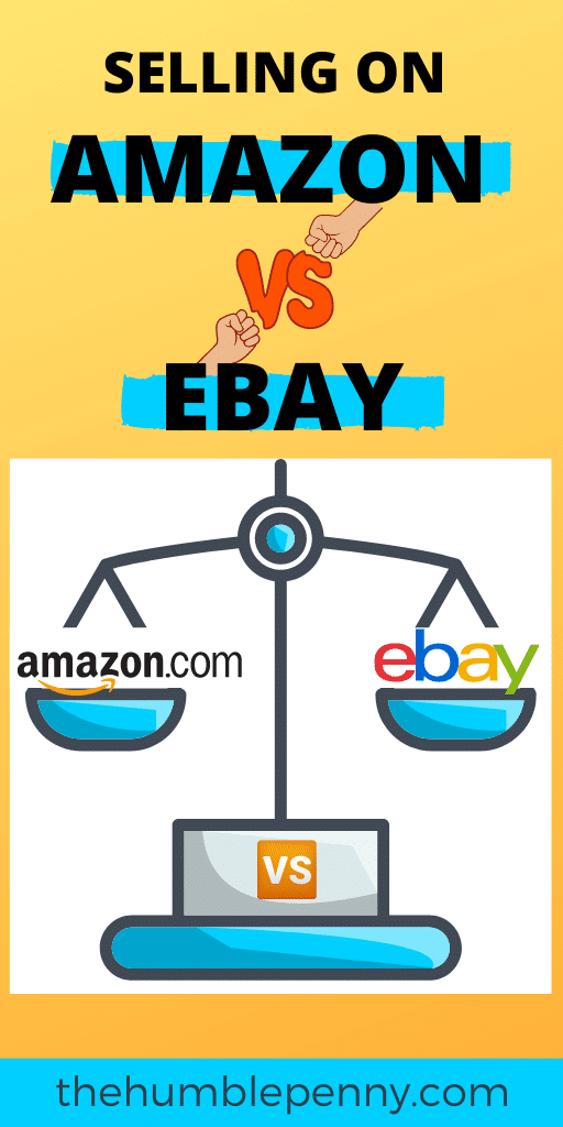 SIDE HUSTLE IDEAS UK: Selling on Amazon vs eBay?