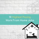 10 Highest Paying Work From Home Jobs