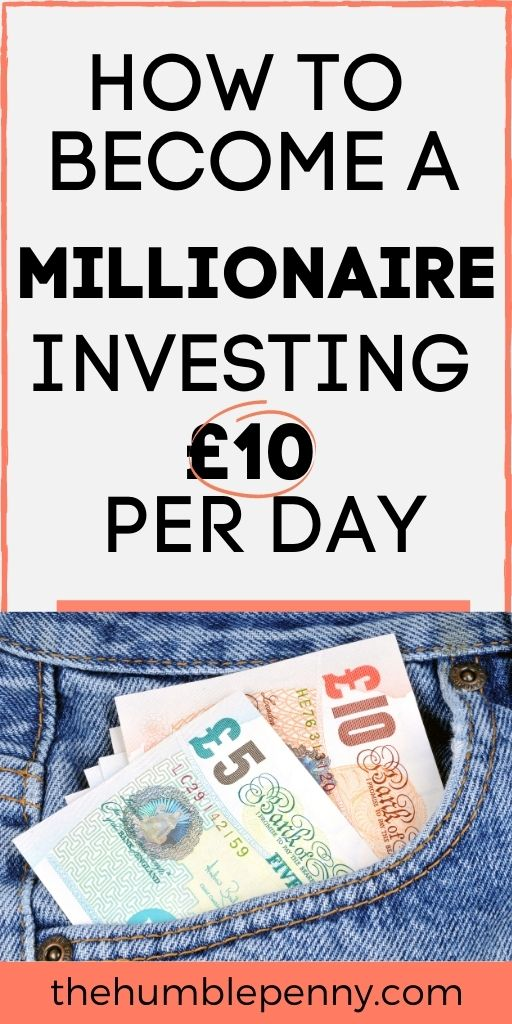 How to become a millionaire investing £10 per day