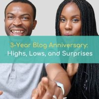 3 year blog annivesary