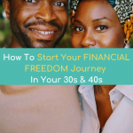 How To Start Your FINANCIAL FREEDOM Journey In Your 30s, 40s, 50s (NEVER TOO LATE)